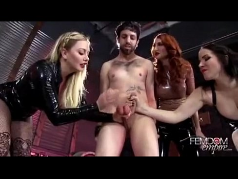 3 Hot Ballbusting Woman