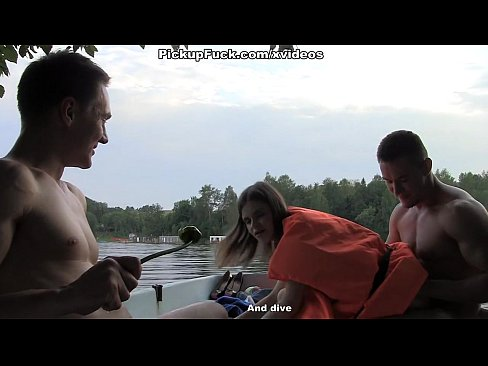 Three Men In A Boat (to Say Nothing Of A Pick Up Girl) Scene 2