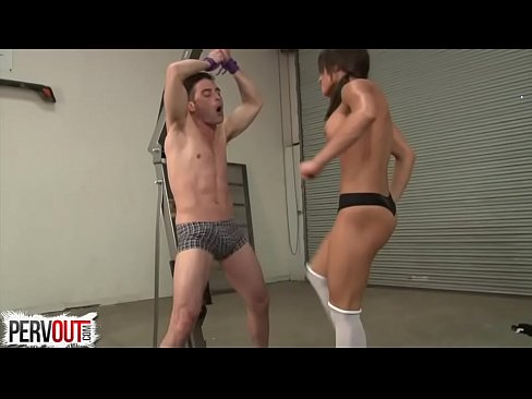 Brutal Payback Ball Destruction W Chichi Medina   Lance Hart BALLBUSTING