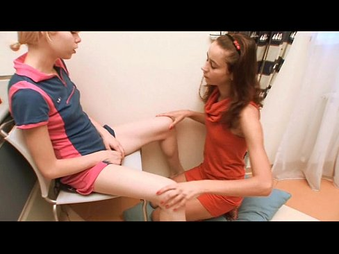 Teen Lesbians Playing With Each Other