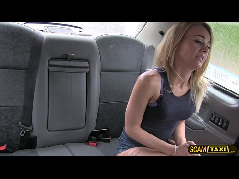 Pervy Cab Driver Slams Carmels Tight Pussy