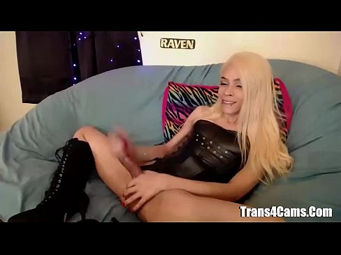 Big Dick Blond TGirl