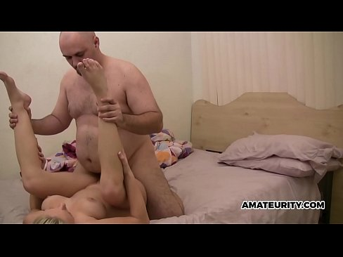 Daddy Fills Step Daughter's Pussy