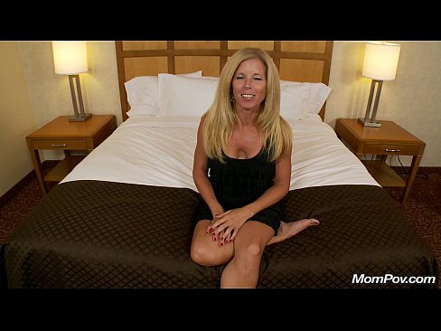 Orgasmic MILF Cums On Young Cock