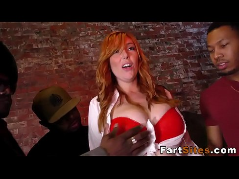 Redhead Bbc Gangbanged