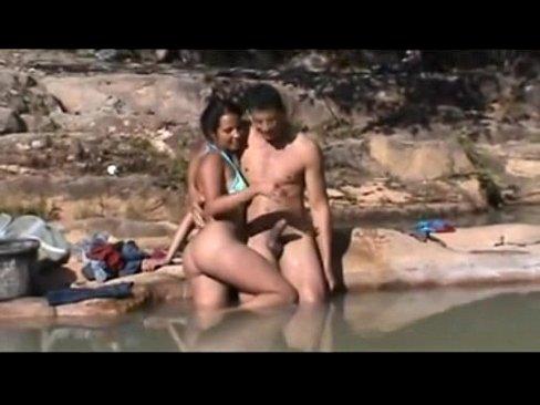 Brazilian Outdoor Sex On The River – Bahia
