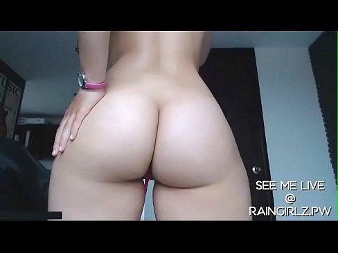 RainGirlz.PW Cam Slut Squirts And Mops Up