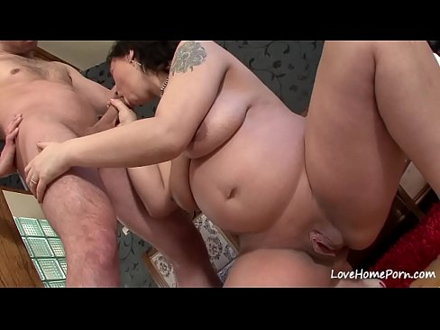 Chick With A Big Belly Sucks And Rides