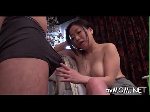 Finger Fucking Asian Slut Mama