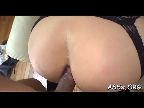 Cute Oriental Hottie Experiences Fantastic Anal Fucking